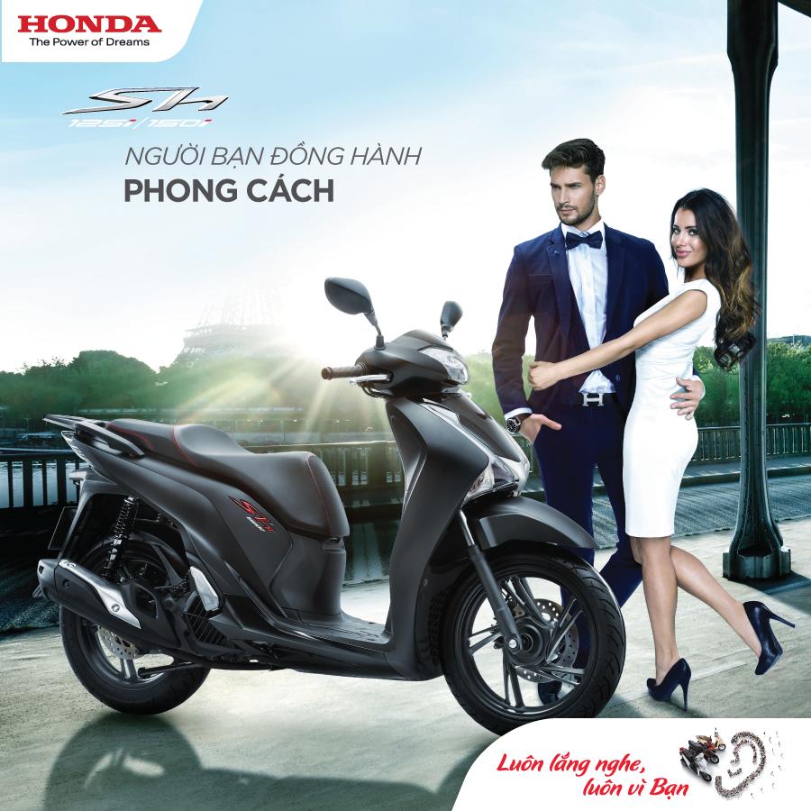 Honda SH mới – Người bạn đồng hành phong cách